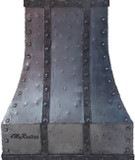custom iron range hood