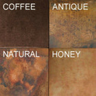 handcrafted copper metal range hood color options