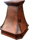 "30"" copper range hood rustic finish"