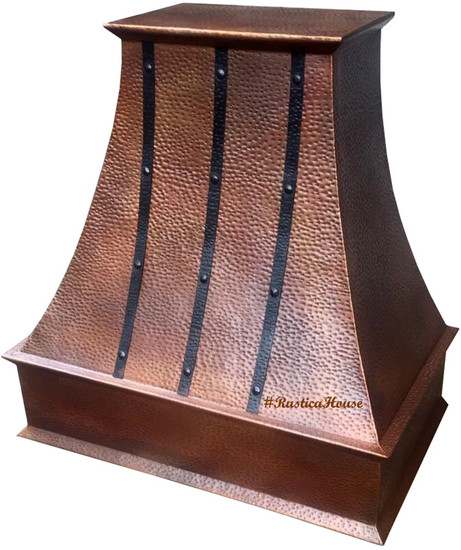 ductless copper range hood