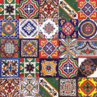 mexican relief tile mix