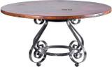 rustic decor copper table