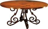 european copper table