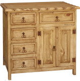 mexican five drawer dresser