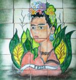 Hand Painte Kitchen Tile Mural