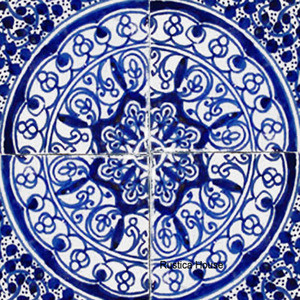 Moorish moroccan ceramic tiles Moroccan ceramic floor tile