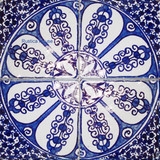 Southern moroccan ceramic tiles