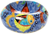 colorful mexican vessel sink