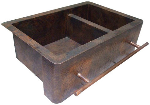 Apron Copper Kitchen Sink 'G501′
