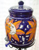 talavera eclipse water crock