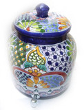 talavera handcrafted water crock