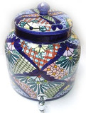 talavera colonial water crock