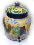 talavera rancherito water crock