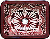 rectangular talavera sink