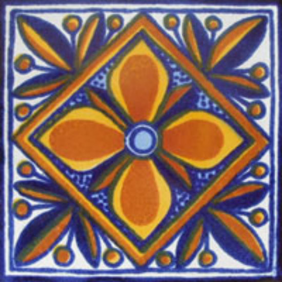 Mexican tile tile design ideas for Azulejo de talavera mexico
