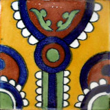 "Mexican Tile ""Indio"""