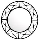 round handmade iron mirror 024