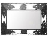 classic iron mirror