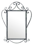 rectangular modern iron mirror 011