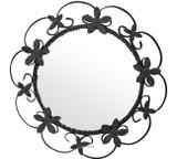 round handmade iron mirror 010