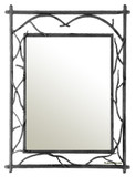 rectangular spanish iron mirror 007