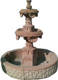 decorative stone fountain
