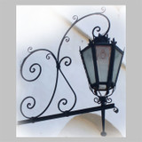 custom outdoor iron lantern