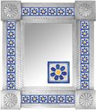 Mexican Tile Mirror 0014