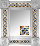 Mexican Tile Mirror 0012