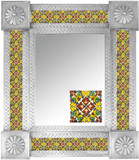 Mexican Tile Mirror 007