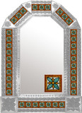 Mexican Tile Mirror 04