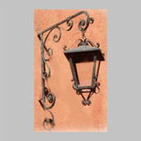 colonial outdoor wall iron lantern