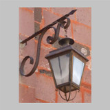 hacienda outdoor wall iron lantern