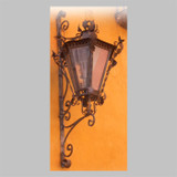 victorian outdoor wall iron lantern