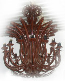 mexico made iron chandelier