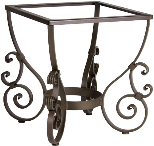 Spanish forged iron table base for Forged iron table base