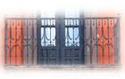 hacienda forged iron balcony