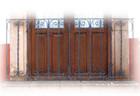 identity forged iron balcony