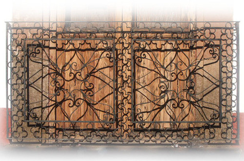 appeal forged iron balcony