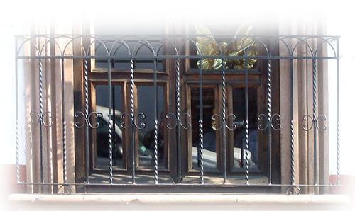 distinctiveness forged iron balcony
