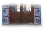 charm forged iron balcony