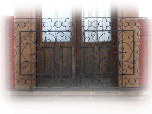 elegance forged iron balcony