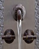 San Miguel bath wall bronze faucet