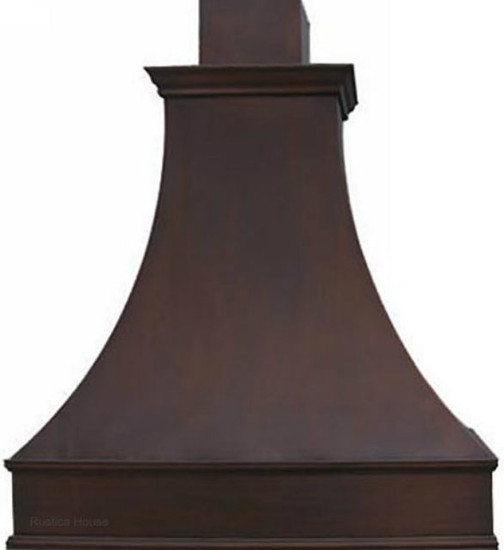 hacienda copper range hood