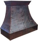 copper range hood vent