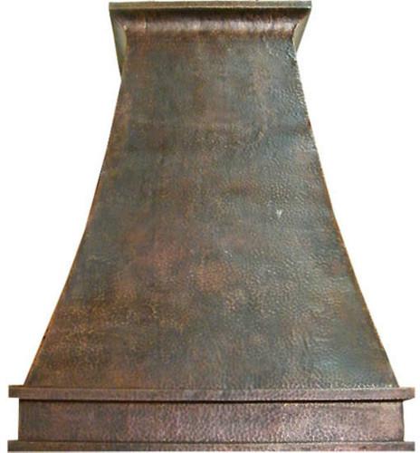 exhaust copper vent hood