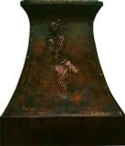 copper kitchen exhaust hood