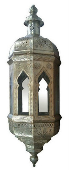 high ceiling foyer tin lamp