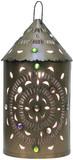 rustic tin lantern comonfort