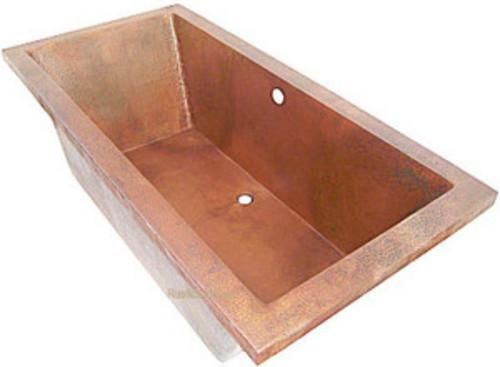 50 best copper bathtub | Santorini Freestanding Copper Bathtub ...